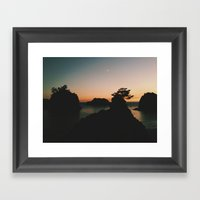 Southern Oregon Coast Su… Framed Art Print