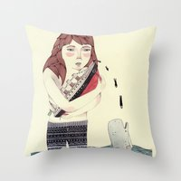 Overboard Throw Pillow