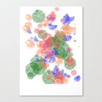 The Bubbles Canvas Print