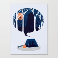 Scary story Canvas Print