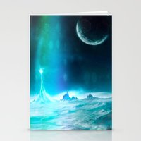 Another World - For Ipho… Stationery Cards