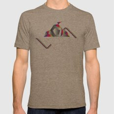 SpaCE_oToLanD Mens Fitted Tee Tri-Coffee SMALL