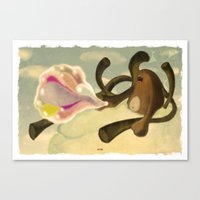 Sky Creature Canvas Print