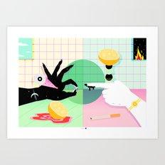 El Amor Y Esas Cosas Art Print