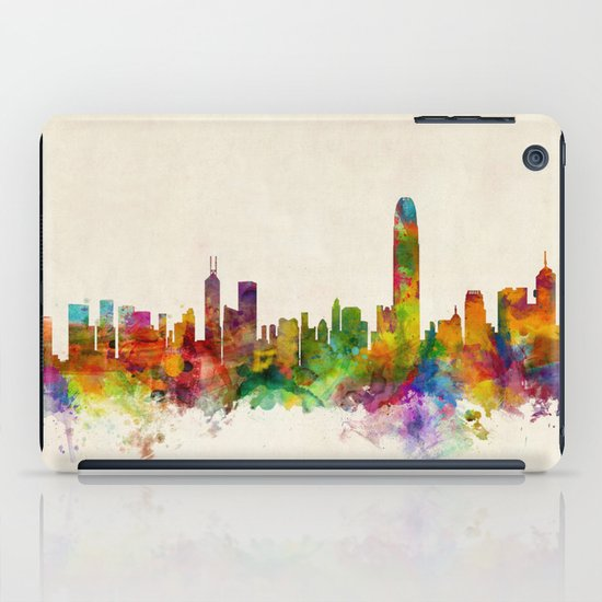 Hong Kong Skyline iPad Case