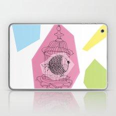 Fishy in Cage Laptop & iPad Skin