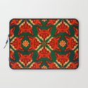 Fox Cross geometric pattern Laptop Sleeve
