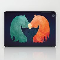 A Tail of Two Horses iPad Case