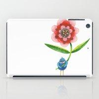 Red Wonder Flower iPad Case