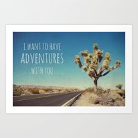 I Want To Have Adventure… Art Print