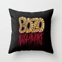 BOZO Nightmare Throw Pillow