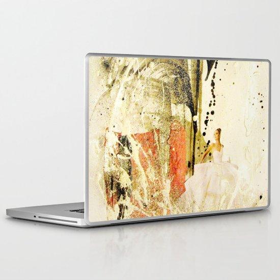 lady in white Laptop & iPad Skin