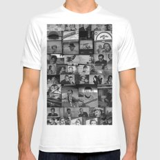 The Protectors of Hollywood Boulevard White Mens Fitted Tee SMALL