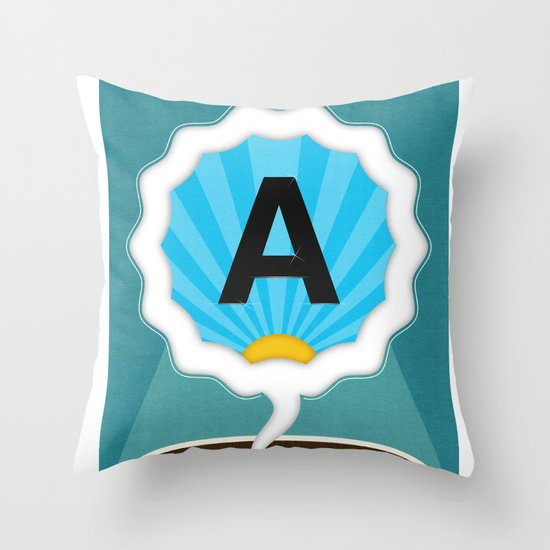 Dreamigners | Typography Throw Pillow