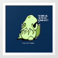 Prank Call of Cthulhu Art Print