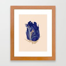 Paper flower 2 Framed Art Print