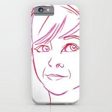 Pink Portrait iPhone 6 Slim Case