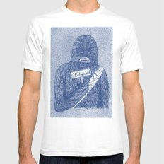 Chewie Mens Fitted Tee White MEDIUM