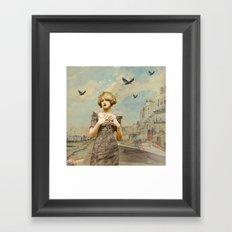 A love lost Framed Art Print