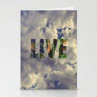 Live! Stationery Cards