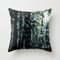 Blue Burns the Twilight Throw Pillow