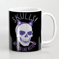 Skulls and Kittens Mug