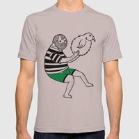 On the strange and controversial topic of bird bowling Mens Fitted Tee Cinder SMALL