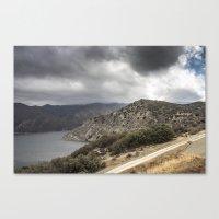 Incoming California Storm Canvas Print