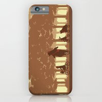 iPhone & iPod Case featuring Biking with Friends by pigboom el crapo