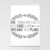 Plans Stationery Cards