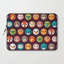 SMILEY FACES 1 Laptop Sleeve