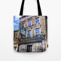 Prospect of  Whitby Pub London 1520  Tote Bag