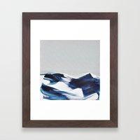 BRUSH STROKES II Framed Art Print