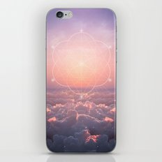 The Sun is but a Morning Star (Geometric Sunrise) iPhone & iPod Skin