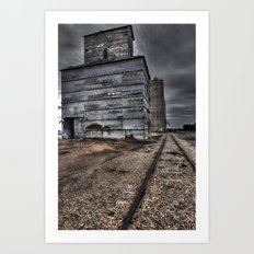 The Tracks Of My Tears Art Print