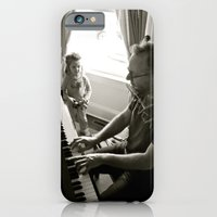 iPhone & iPod Case featuring Piano Man by Jean Dougherty