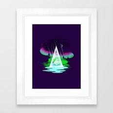 Northern Air Framed Art Print