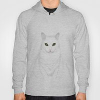 Pixel   The Cat who Walks Through Walls Hoody