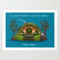 Share in an Adventure Art Print