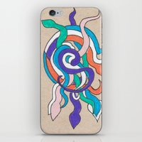 iPhone & iPod Skin featuring snake knot by ronnie mcneil
