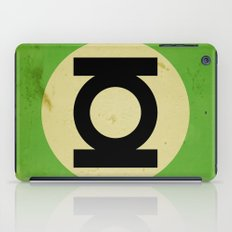 Green Lantern (Super Minimalist series) iPad Case