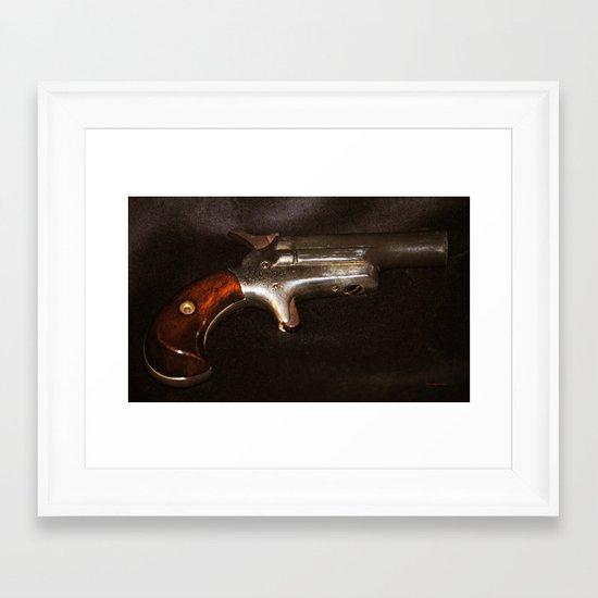 Derringer Framed Art Print