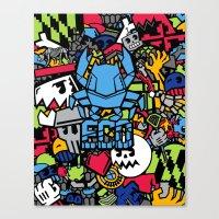 Beast Coast Dyes  Canvas Print