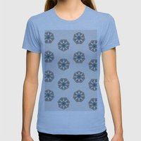 Tuscany Womens Fitted Tee Athletic Blue SMALL