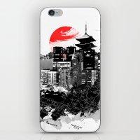 Abstract Tokyo-Shinjuku/Kyoto - Japan iPhone & iPod Skin