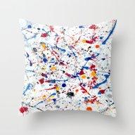 Abstract #3 - Exhilarati… Throw Pillow