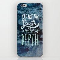 Big Sur x Depth iPhone & iPod Skin