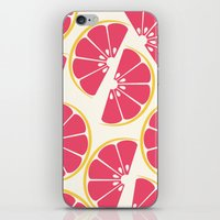 Citrus: Grapefruit iPhone & iPod Skin