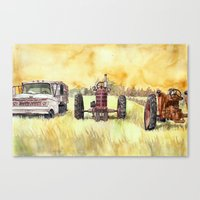 Retirees Canvas Print