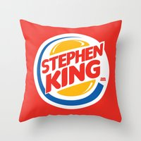 Stephen King Throw Pillow